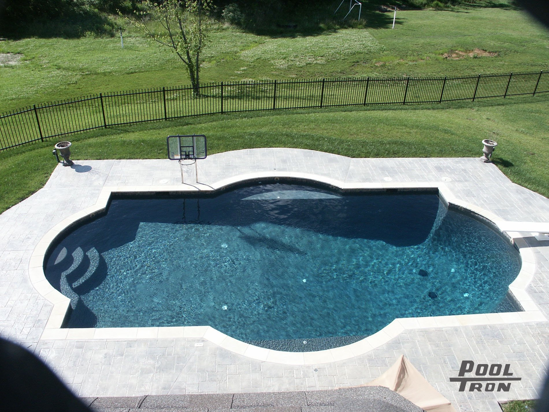 Tron Pools Custom Concrete