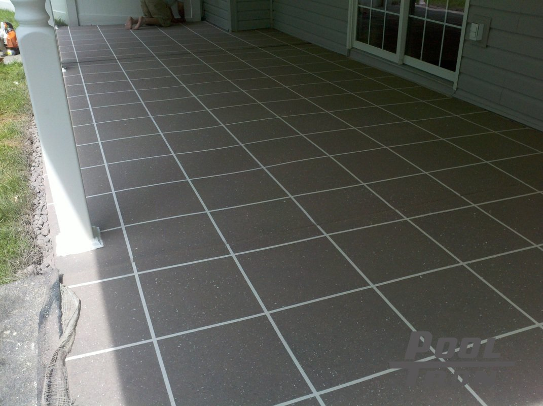 Tron Pools Driveway And Garage Epoxy Coating Systems